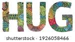hand painted art design. hand... | Shutterstock .eps vector #1926058466