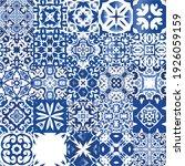 ceramic tiles azulejo portugal. ... | Shutterstock .eps vector #1926059159