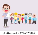 man check and test many relate  ...   Shutterstock .eps vector #1926075026