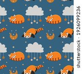 seamless vector pattern with... | Shutterstock .eps vector #1926099236