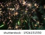 color shining firework show...   Shutterstock . vector #1926151550
