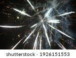 color shining firework show...   Shutterstock . vector #1926151553