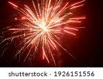 color shining firework show...   Shutterstock . vector #1926151556