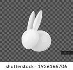 vector white ceramic easter...   Shutterstock .eps vector #1926166706