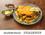 Schnitzel With Fried Potatoes...