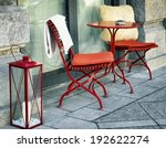 Sidewalk Cafe   Table And Chair