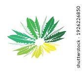 swing circle logo design eps | Shutterstock .eps vector #1926226850