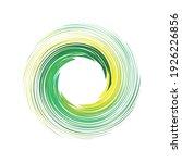 swing circle logo design eps | Shutterstock .eps vector #1926226856