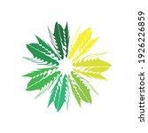 swing circle logo design eps | Shutterstock .eps vector #1926226859