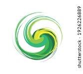 swing circle logo design eps | Shutterstock .eps vector #1926226889