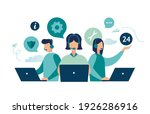 customer service  hotline... | Shutterstock .eps vector #1926286916
