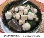 Thai Style Meatball Noodle Soup ...