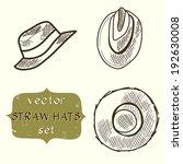 Set Of Hand Drawn Sketchy Stra...