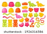 jelly gum candy sweets vector...   Shutterstock .eps vector #1926316586