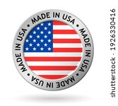vector made in usa sign | Shutterstock .eps vector #1926330416