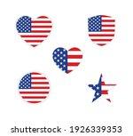 patriotic banner badge label... | Shutterstock .eps vector #1926339353