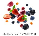 Many Different Berries In The...