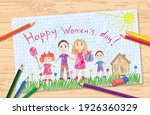 Vector Children's Drawing For...