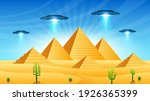 abstract aliens on flying... | Shutterstock .eps vector #1926365399