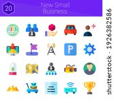 new small business icon set. 20 ...