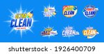 laundry detergent template set... | Shutterstock .eps vector #1926400709