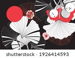 beautiful graphic patterns with ... | Shutterstock .eps vector #1926414593