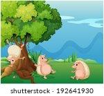 illustration of the three... | Shutterstock . vector #192641930