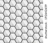 honeycomb pattern design   3d... | Shutterstock .eps vector #192642659