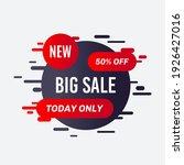 promotional sale banner... | Shutterstock .eps vector #1926427016