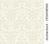 damask seamless vector pattern. ...   Shutterstock .eps vector #1926438560