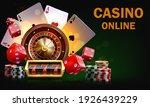 Casino Illustration With...