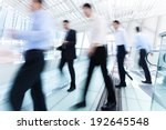 business people in motion. | Shutterstock . vector #192645548