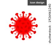 covid coronavirus molecule... | Shutterstock .eps vector #1926461240