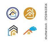 creative house set logo vector... | Shutterstock .eps vector #1926461816