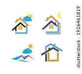 creative house set logo vector... | Shutterstock .eps vector #1926461819