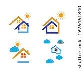 creative house set logo vector... | Shutterstock .eps vector #1926461840
