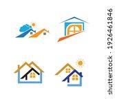 creative house set logo vector... | Shutterstock .eps vector #1926461846