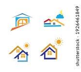 creative house set logo vector... | Shutterstock .eps vector #1926461849