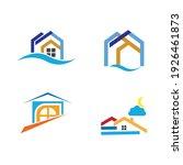 creative house set logo vector... | Shutterstock .eps vector #1926461873