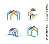 creative house set logo vector... | Shutterstock .eps vector #1926461900