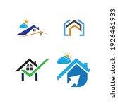 creative house set logo vector... | Shutterstock .eps vector #1926461933