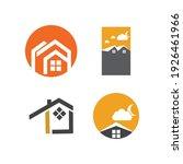 creative house set logo vector... | Shutterstock .eps vector #1926461966