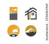 creative house set logo vector... | Shutterstock .eps vector #1926461969