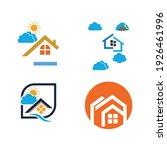 creative house set logo vector... | Shutterstock .eps vector #1926461996