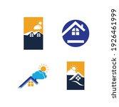 creative house set logo vector... | Shutterstock .eps vector #1926461999