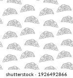 vector seamless pattern of hand ...   Shutterstock .eps vector #1926492866