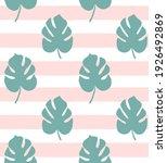 vector seamless pattern of mint ...   Shutterstock .eps vector #1926492869