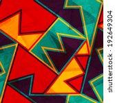 vintage bright seamless texture ... | Shutterstock .eps vector #192649304