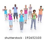 group of healthy people in the... | Shutterstock . vector #192652103