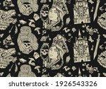 fairy tales  dark gothic... | Shutterstock .eps vector #1926543326